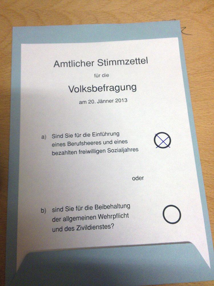 HAPPYTEC.at :: Blog :: Volksbefragung zur Wehrpflicht in ...